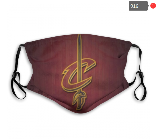 NBA Cleveland Cavaliers 2 Dust mask with filter