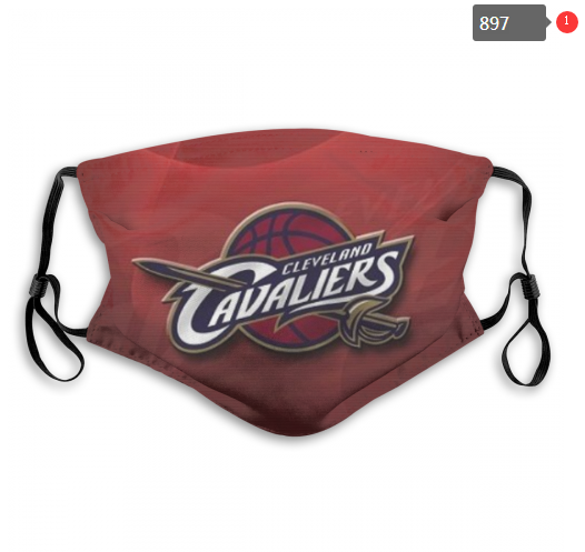 NBA Cleveland Cavaliers 21 Dust mask with filter