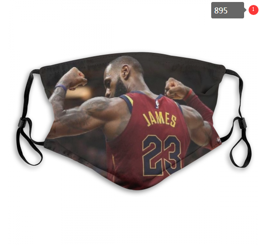 NBA Cleveland Cavaliers 23 Dust mask with filter