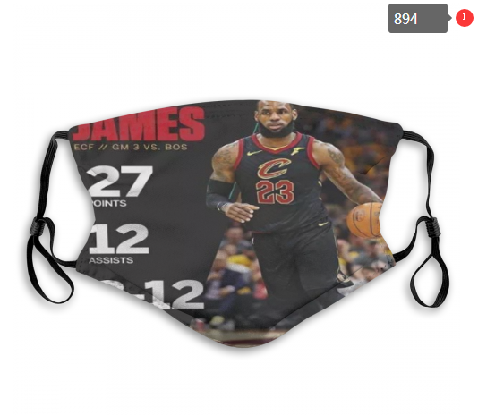 NBA Cleveland Cavaliers 24 Dust mask with filter