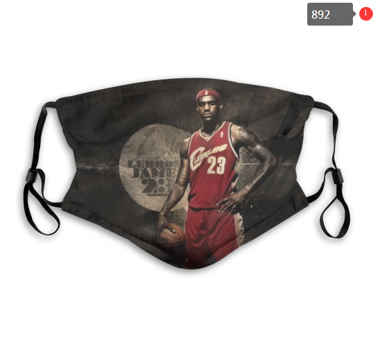 NBA Cleveland Cavaliers 26 Dust mask with filter