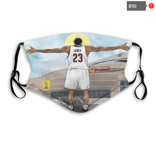 NBA Cleveland Cavaliers 28 Dust mask with filter