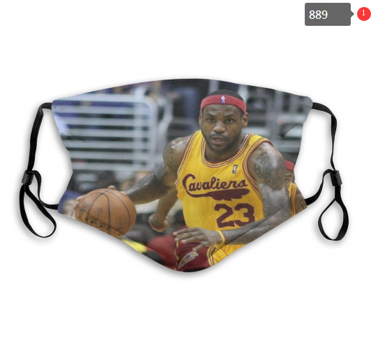 NBA Cleveland Cavaliers 29 Dust mask with filter