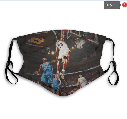 NBA Cleveland Cavaliers 3 Dust mask with filter