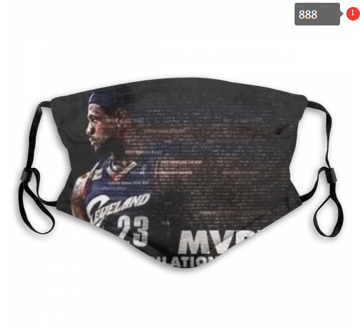 NBA Cleveland Cavaliers 30 Dust mask with filter