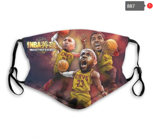 NBA Cleveland Cavaliers 31 Dust mask with filter