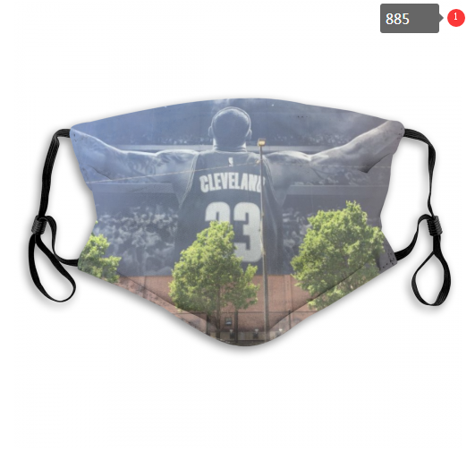 NBA Cleveland Cavaliers 33 Dust mask with filter