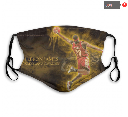 NBA Cleveland Cavaliers 34 Dust mask with filter