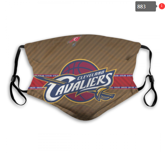 NBA Cleveland Cavaliers 35 Dust mask with filter