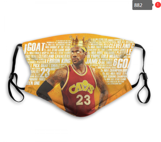 NBA Cleveland Cavaliers 36 Dust mask with filter
