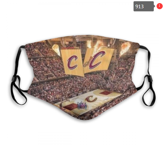 NBA Cleveland Cavaliers 5 Dust mask with filter