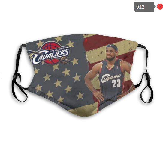NBA Cleveland Cavaliers 6 Dust mask with filter