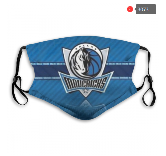 NBA Dallas Mavericks 2 Dust mask with filter