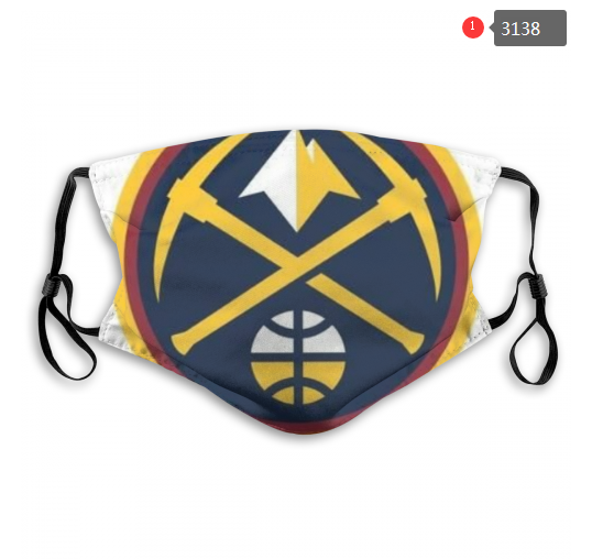 NBA Denver Nuggets 3 Dust mask with filter