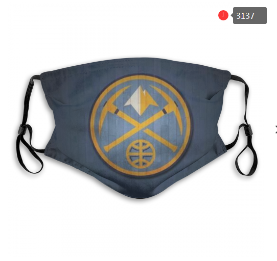 NBA Denver Nuggets 4 Dust mask with filter