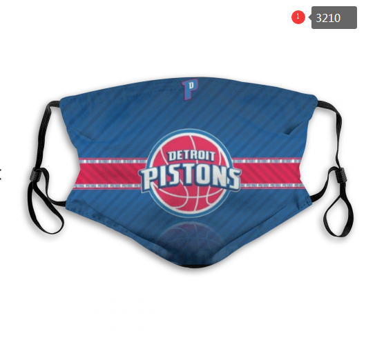 NBA Detroit Pistons 1 Dust mask with filter