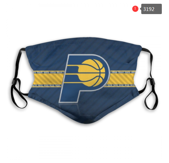 NBA Indiana Pacers 1 Dust mask with filter