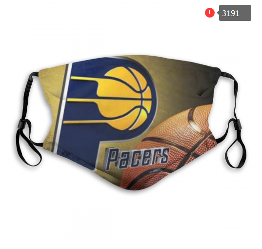 NBA Indiana Pacers 2 Dust mask with filter