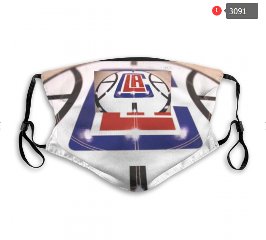 NBA Los Angeles Clippers 5 Dust mask with filter