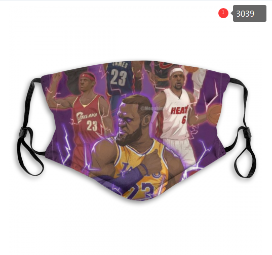 NBA Los Angeles Lakers 27 Dust mask with filter