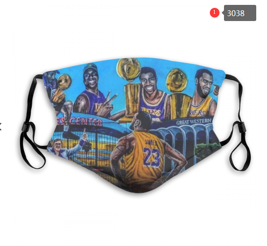NBA Los Angeles Lakers 28 Dust mask with filter