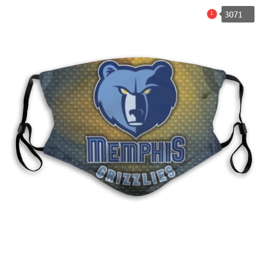 NBA Memphis Grizzlies 1 Dust mask with filter