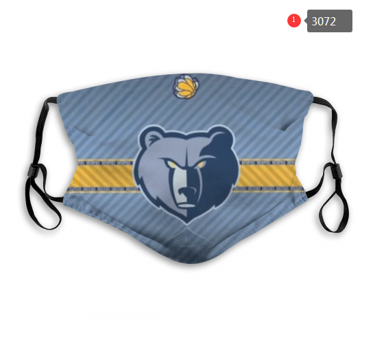 NBA Memphis Grizzlies Dust mask with filter