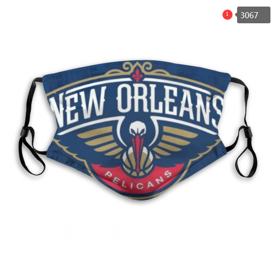NBA New Orleans Pelicans 1 Dust mask with filter