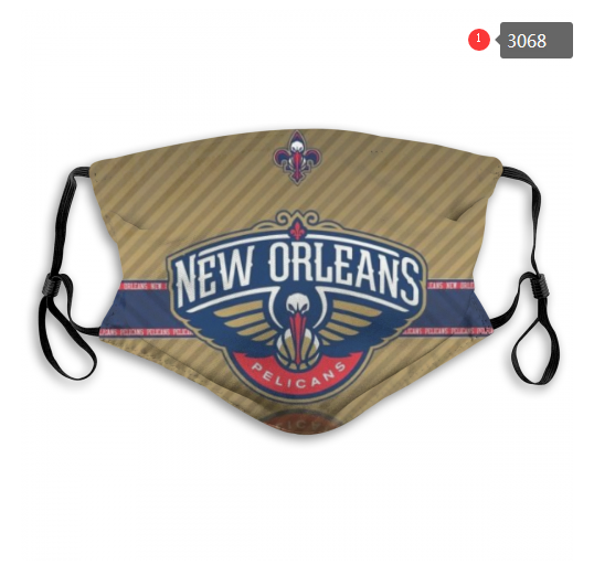 NBA New Orleans Pelicans Dust mask with filter