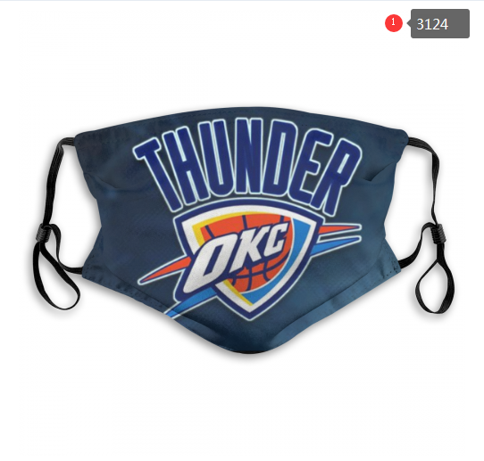 NBA Oklahoma City Thunder Dust mask with filter