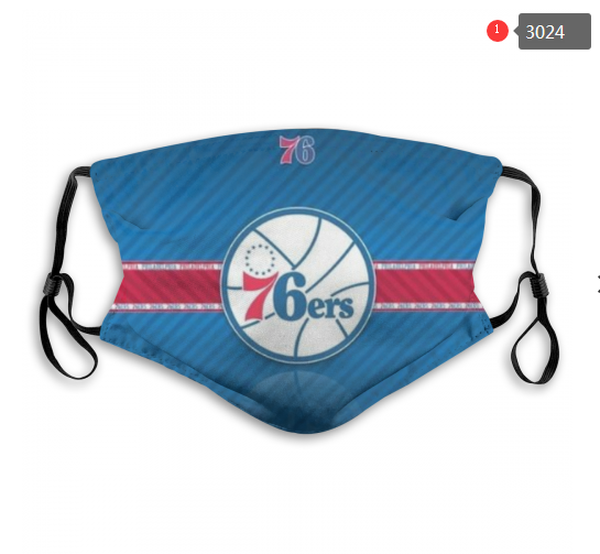 NBA Philadelphia 76ers 1 Dust mask with filter