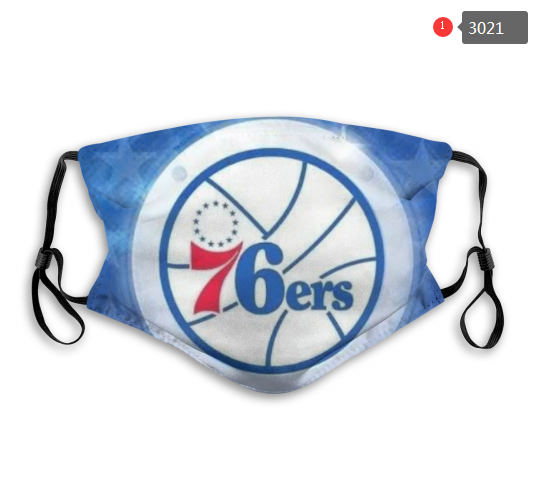 NBA Philadelphia 76ers 4 Dust mask with filter