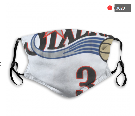 NBA Philadelphia 76ers 5 Dust mask with filter