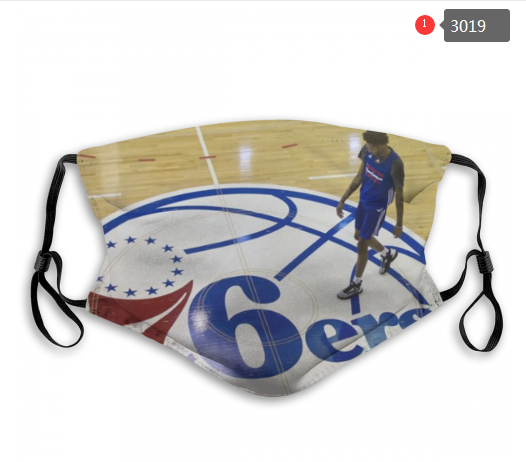 NBA Philadelphia 76ers 6 Dust mask with filter
