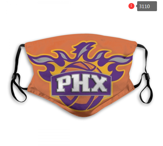 NBA Phoenix Suns 2 Dust mask with filter