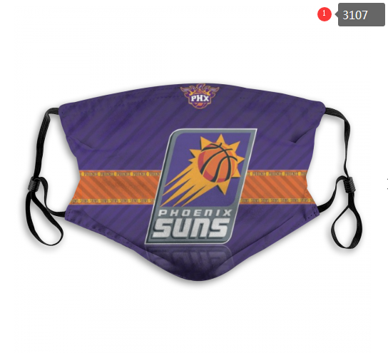 NBA Phoenix Suns 5 Dust mask with filter