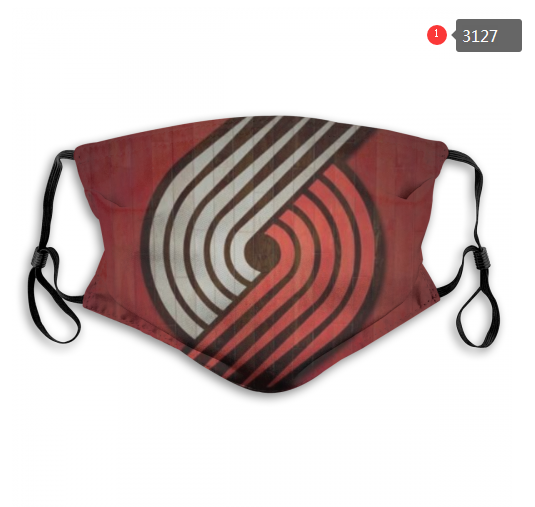 NBA Portland Trail Blazers 1 Dust mask with filter