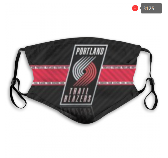 NBA Portland Trail Blazers 3 Dust mask with filter