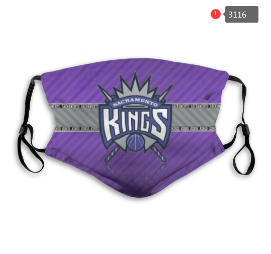NBA Sacramento Kings 2 Dust mask with filter