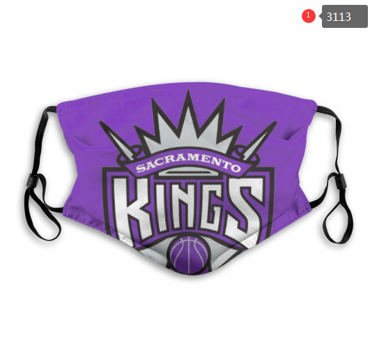 NBA Sacramento Kings 5 Dust mask with filter