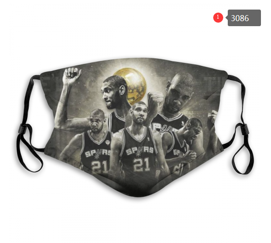 NBA San Antonio Spurs 2 Dust mask with filter