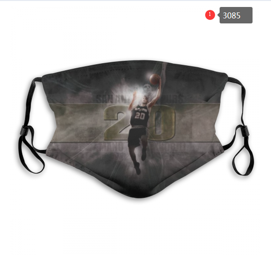 NBA San Antonio Spurs 3 Dust mask with filter