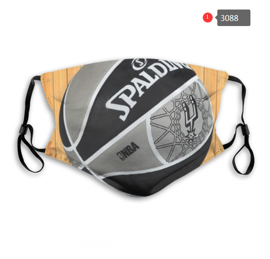 NBA San Antonio Spurs Dust mask with filter