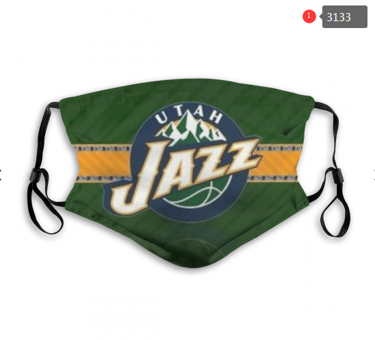 NBA Utah Jazz 1 Dust mask with filter