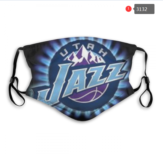 NBA Utah Jazz 2 Dust mask with filter