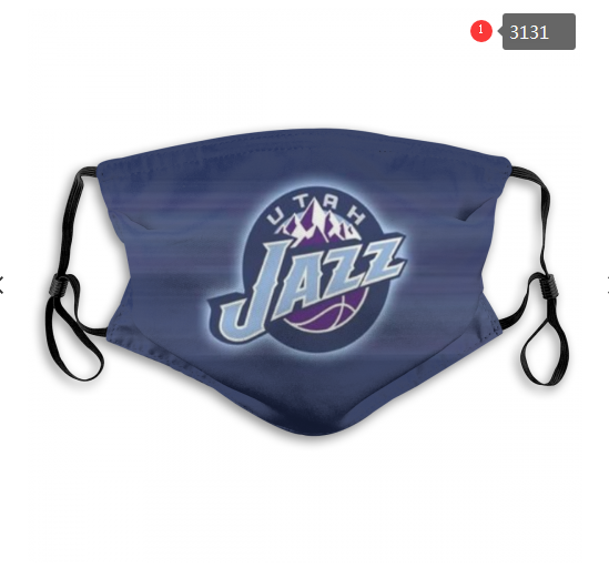 NBA Utah Jazz 3 Dust mask with filter