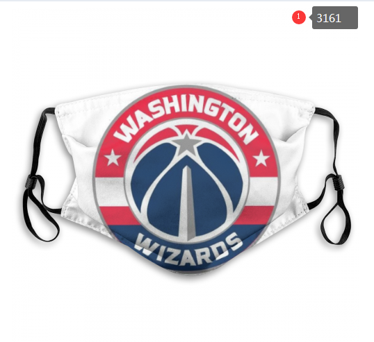 NBA Washington Wizards 3 Dust mask with filter