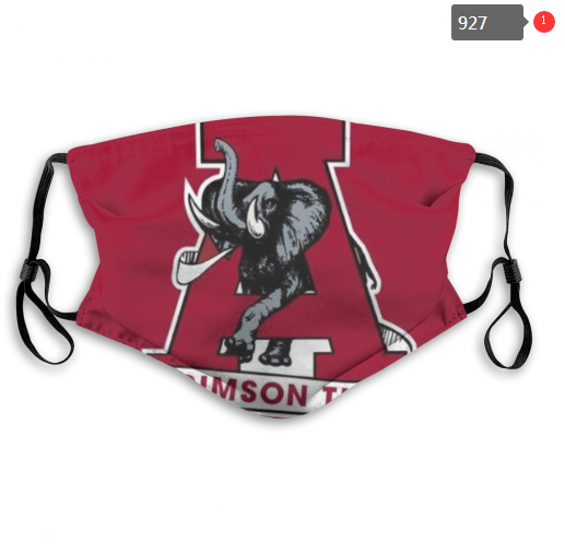 NCAA Alabama Crimson Tide 11 Dust mask with filter