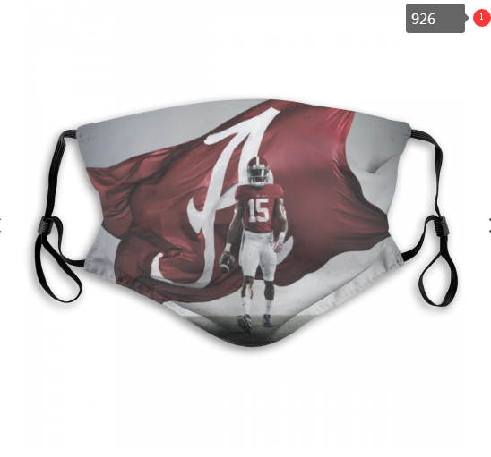 NCAA Alabama Crimson Tide 12 Dust mask with filter