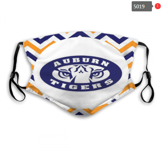 NCAA Auburn Tigers 7 Dust mask with filter